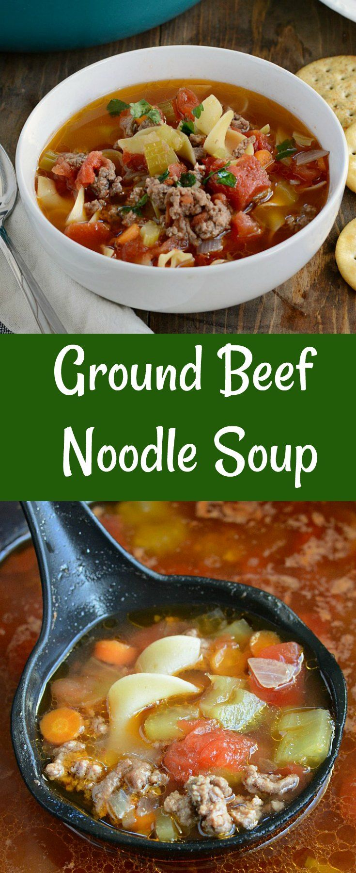 Ground Beef Noodle Soup Meatloaf And Melodrama Recipe Soup With Ground Beef Easy Soups Quick And Easy Soup