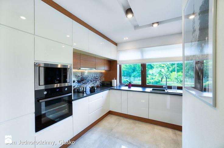 Dom jednorodzinny Głusko - Kuchnia, styl nowoczesny - zdjęcie od Auraprojekt
