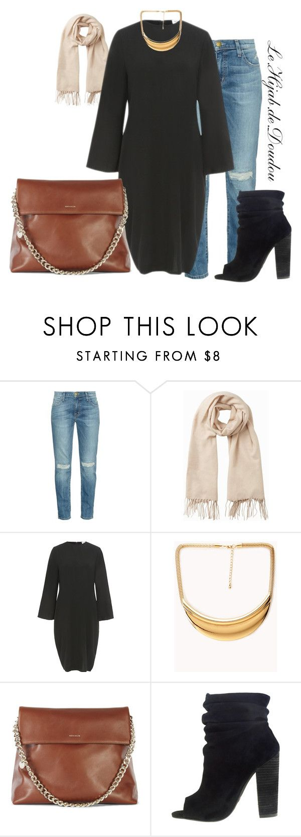 """""""Hijab Outfit"""" by le-hijab-de-doudou ❤ liked on Polyvore featuring Current/Elliott, Vero Moda, Forever 21 and Kristin Cavallari"""