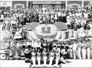 """On July 17, 1955, Disneyland opened its gates for the very first time.  While this was a momentous and historic occasion for Disney, the day did not go quite as planned.  Disneyland opening day was referred to by cast members as """"Black Sunday"""" due to all of the problems experienced at the park. 