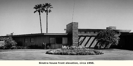 Front Elevation For Modern Houses : Sinatra house front elevation circa architecture