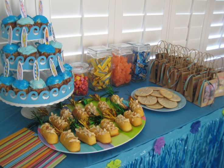 image detail for creative party ideas by cheryl surf party