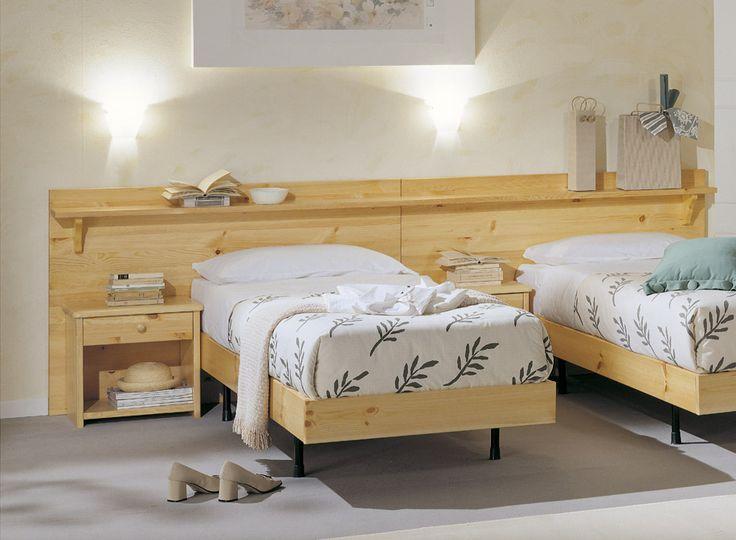 17 migliori idee su letti in legno su pinterest stanze - Mobili in abete massiccio ...