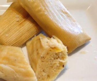 Tamales de Piña y Coco