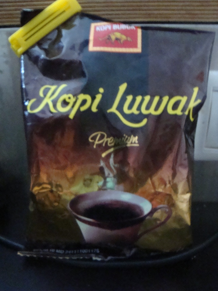 Kopi Luwak, one of the most expensive coffee in the world