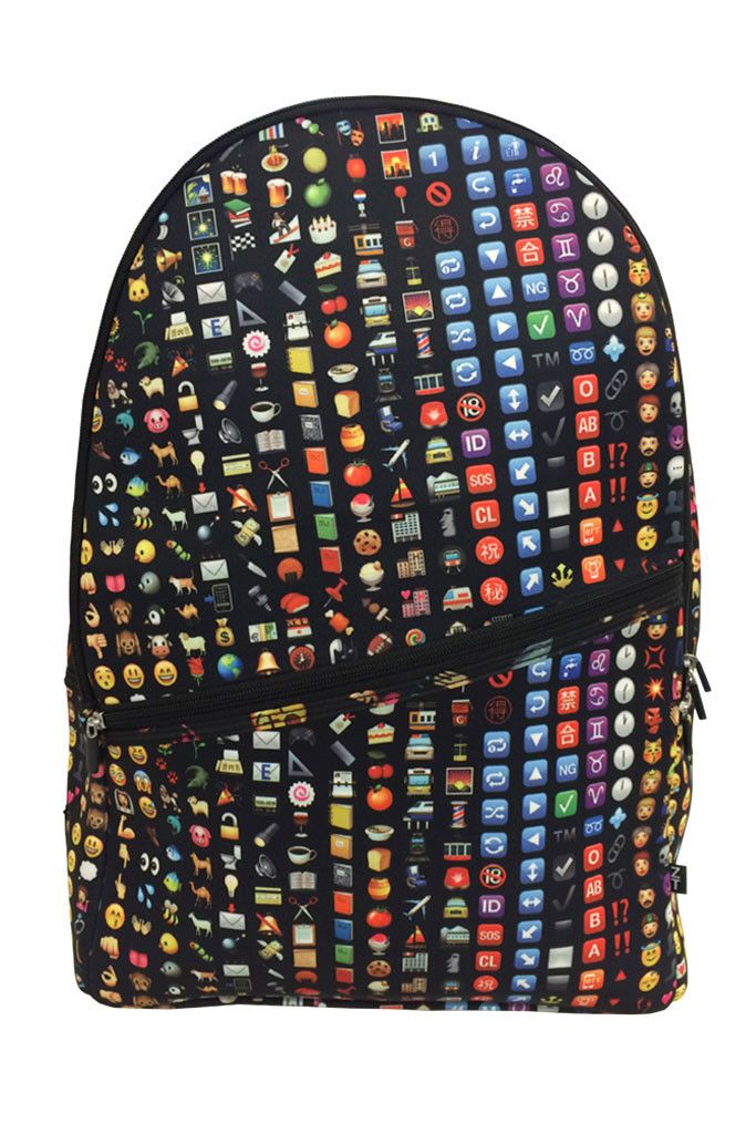 Emoji Backpack  http://emojicushions.mysimplestore.com/