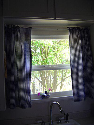 curtain tutorial: Curtains Diy, Kitchens Curtains, Window Curtains, Diy'S, Make Curtains, Easy Curtains, Curtains Tutorials, Cafe Curtains, Diy Curtains