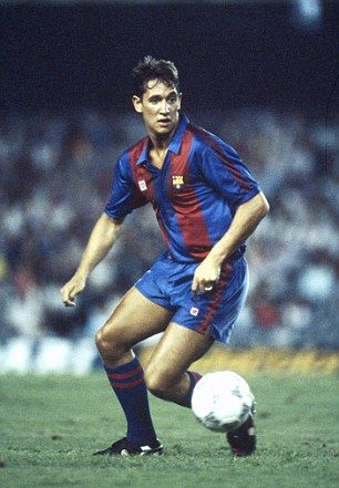 Gary Lineker, born 30 November 1960, English striker, FC Barcelona (1986-1989)
