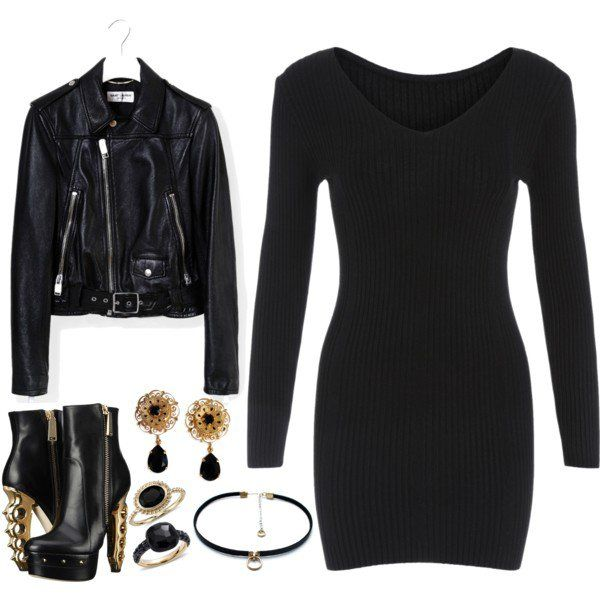 what shoes to wear with black tight dress 14