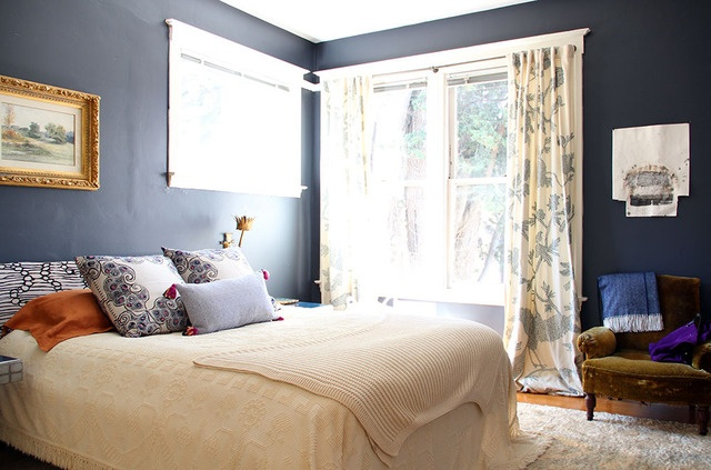 Benjamin Moore Slate Teal For A Subdued And Intimate Bedroom Look Bedroom Pinterest Slate