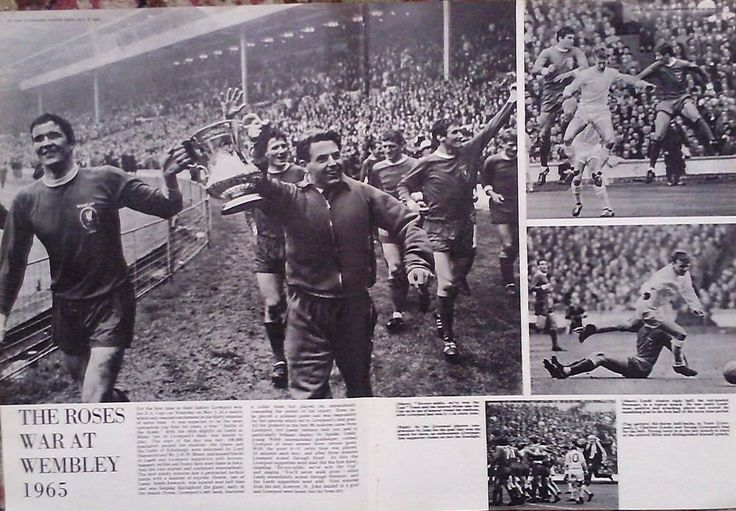 1965 PRINT FA CUP FINAL LIVERPOOL v LEEDS UTD-2000 AND 1000 GUINEAS AT NEWMARKET #Realism