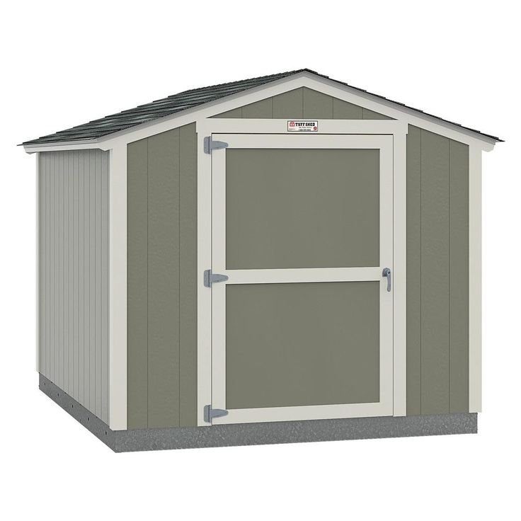 Tuff Shed Installed The Tahoe Series Standard Ranch 10 Ft X 12 Ft X 8 Ft 2 In Painted Wood Storage Building Shed 10x12 Sr E1 The Home Depot Tuff Shed