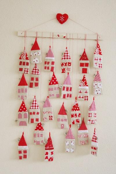 little houses Advent calendar