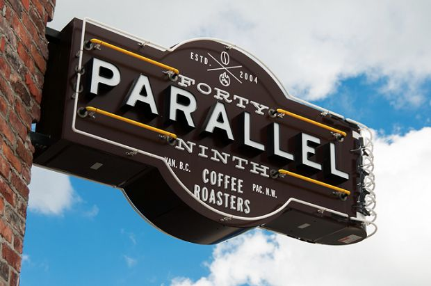 49th Parallel Café and Lucky's Donuts, 2902 Main Street