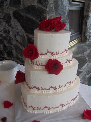 how to make white wedding cake icing