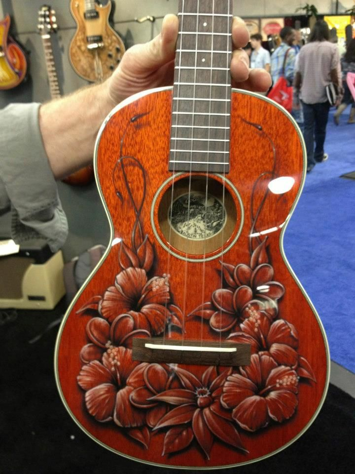 Actually a Ukulele from the NAMM Show