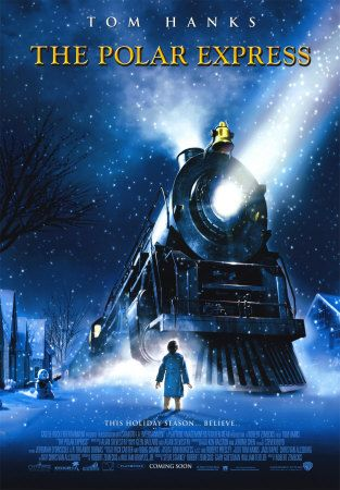 the Polar Express - going to be all over this film in 48 days