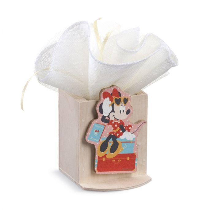Minnie Travel Μολυβοθήκη με clip για μπομπονιέρα βάπτισης