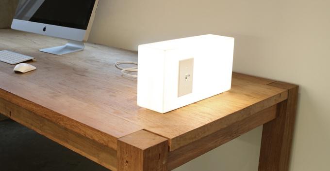 American Standards Lamp