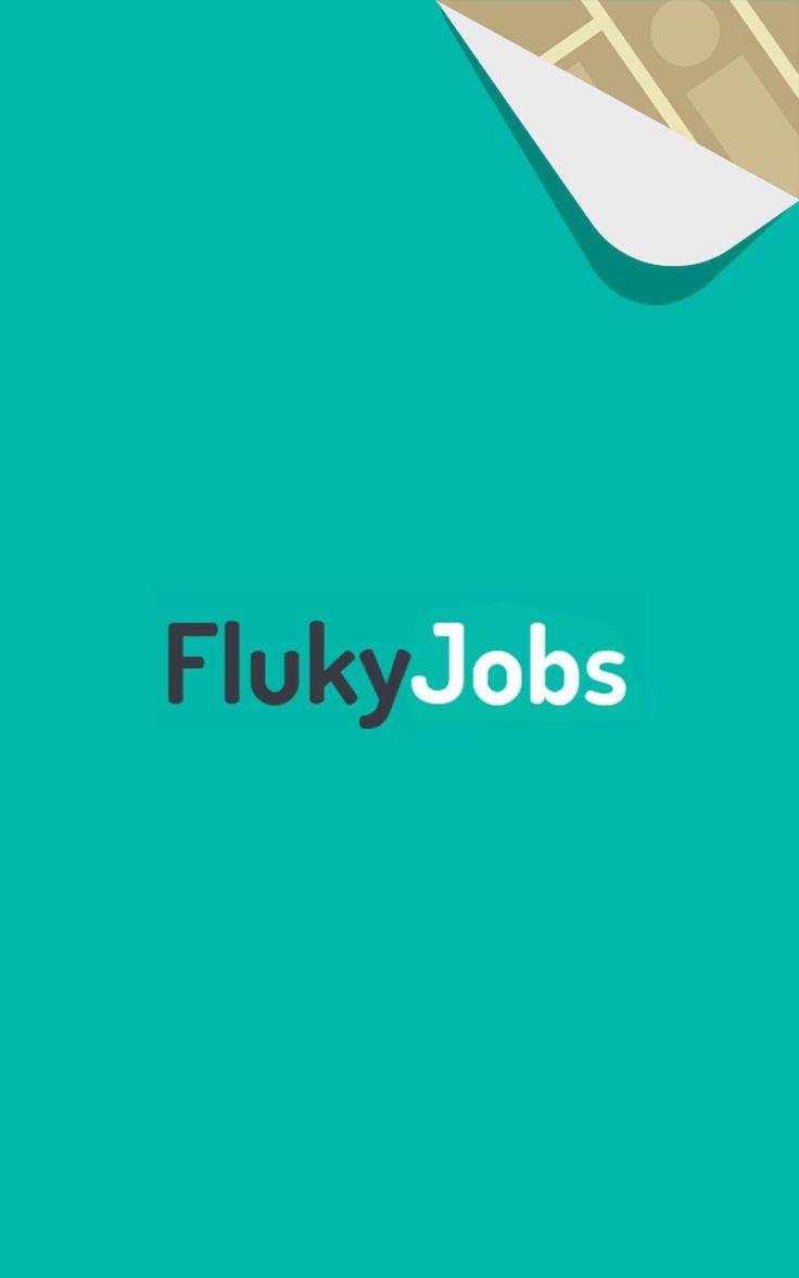 #FlukyJobs: Splash page