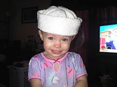 Ravelry: Child's Knitted Sailor Hat pattern by Lion Brand Yarn