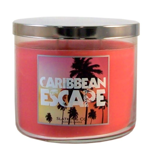 Bath and body works candle - escape to the Caribbean in your mind and relax!