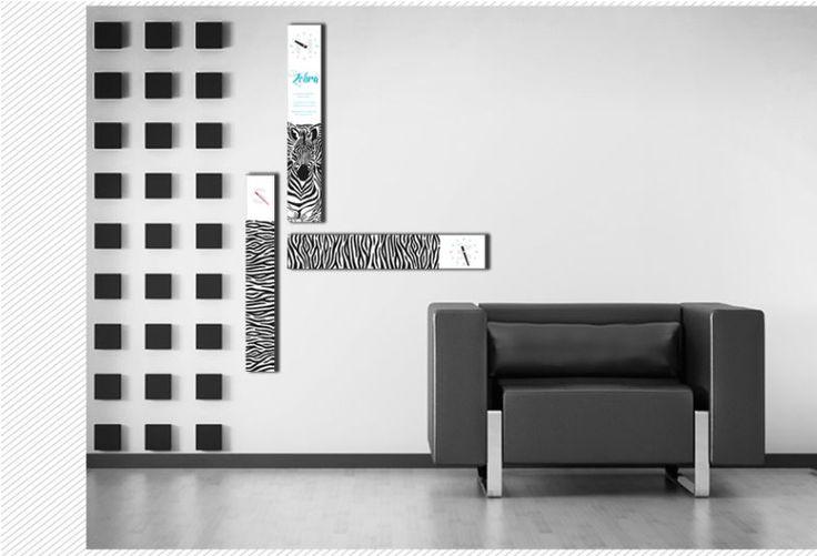 Interior Wall Clock Zebra Home Decor, Modern Luxury 3pcs Framed Wall Art   #LEMONART #ArtDeco