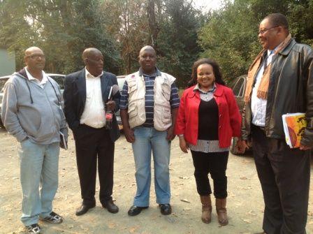 Departments of Waste Management, Arts & Culture, Disaster Planning, UmDM Govt Officials all came together on the #MandelaMarathon Route Tour photo IMG_2618.jpg