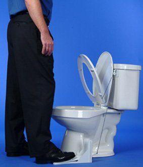 Flipper The Pedal Toilet Seat Lifter