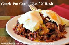 Crock-Pot Corned Beef, Hash & Sandwiches recipe