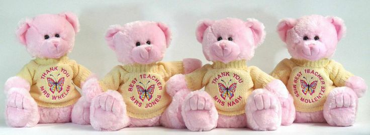 Beautiful and cuddly teacher gifts.