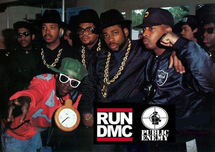 Run DMC & Public Enemy