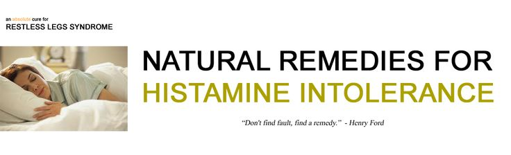 histamine intolerance - good bits of info from all over the Web