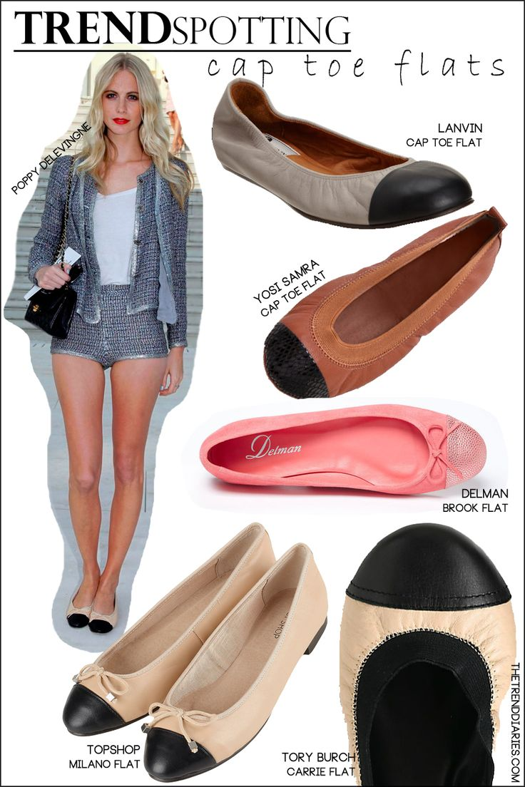 TREND SPOTTING : Cap Toe Flats! Would you SHOP this Trend or Not!