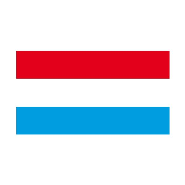 Pegatinas: Vinilo Bandera de Luxemburgo #bandera #pegatina #TeleAdhesivo