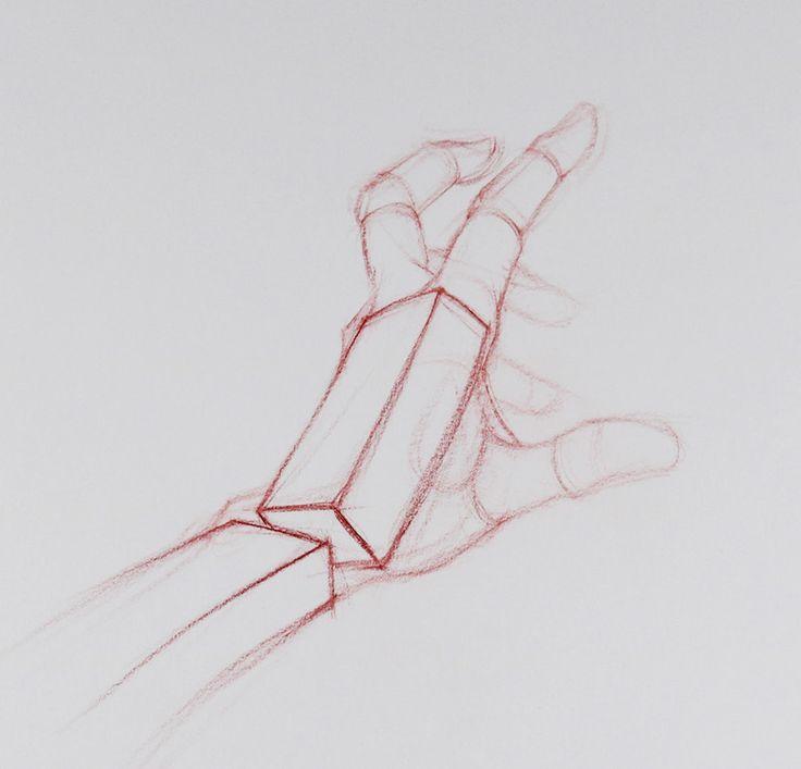 Ruční kresba, Figurální kresba Techniques, Brent Eviston, umělce Network, Obrázek 4