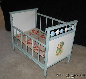 1000 Images About 1950s Doll Cribs On Pinterest Metals