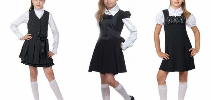 Школьная форма для девочек сарафан платье фото