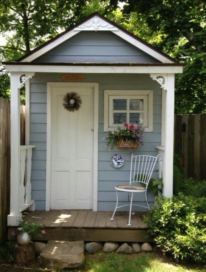 Lady Anneu0027s Cottage: Charming Garden Shed