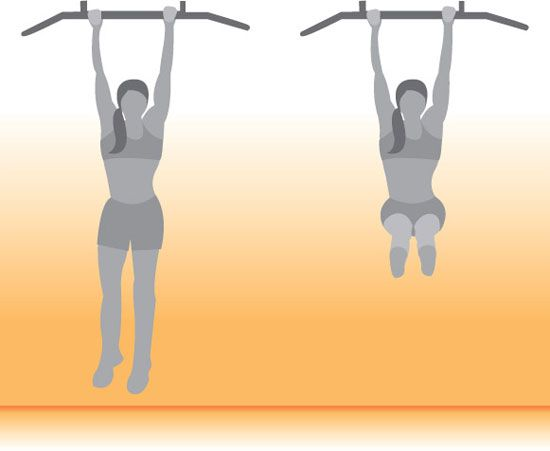Get Lifted: Hanging Leg Lifts (flat abs)