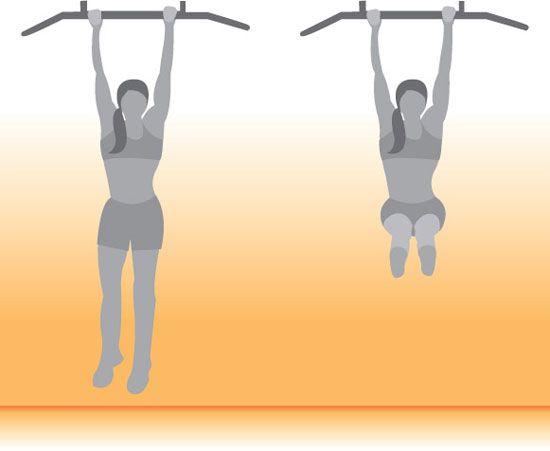 Get Lifted: Hanging Leg Lifts - www.fitsugar.com