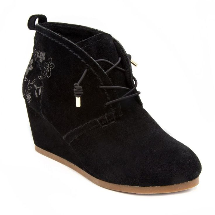 Sugar Maybe Baby Women's Wedge Ankle Boots, Size: medium (8.5), Oxford