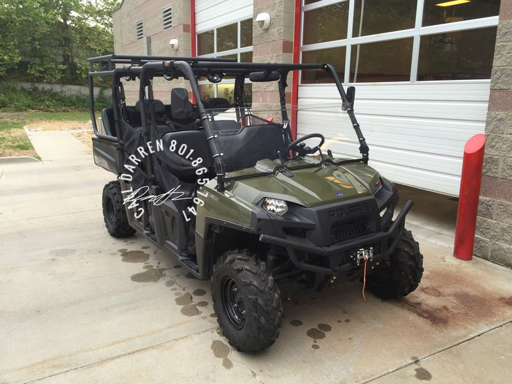 Polaris Ranger 800 crew cab roll cage & seat package with