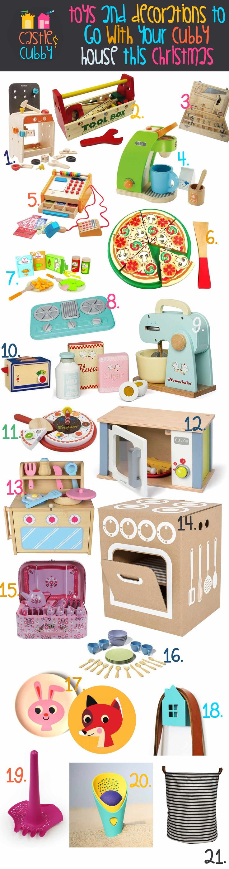 Best Toys to go with your Cubby House this 2015 Christmas