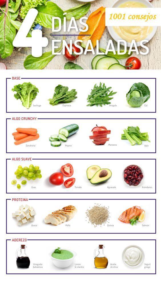 ensaladas para bajar de peso recetas kraft
