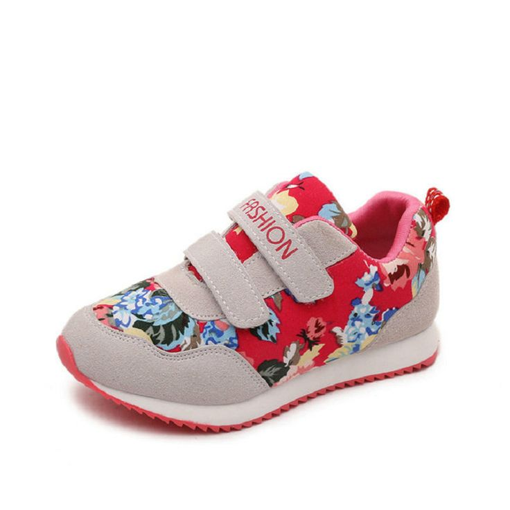 2016 New Autumn Breathable Girls Flowers Sneakers Brand Student Child Running Kids Sports Shoes for boys Size 26~36 #Affiliate