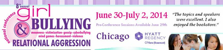Early Bird Deadline: Join Susan L. Taylor, Erin Gruwell, Shaheen Shariff, Stephanie Jensen, Kevin Epling & More! National Conference on Girl Bullying and Relational Aggression