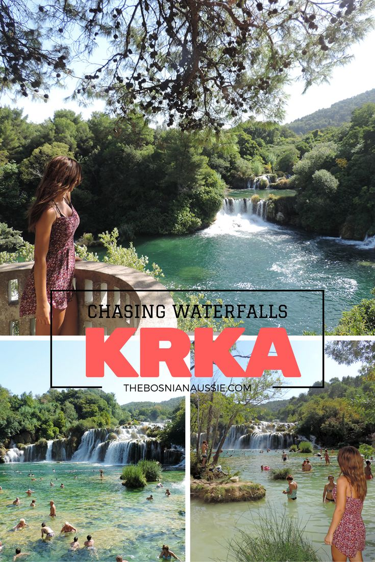 My day out in Krka waterfalls with Adriatic 4 you tours.   http://www.thebosnianaussie.com/blog/chasing-waterfalls-krka-national-park-with-adriatic-4-you/  #krka #krkawaterfalls #croatia