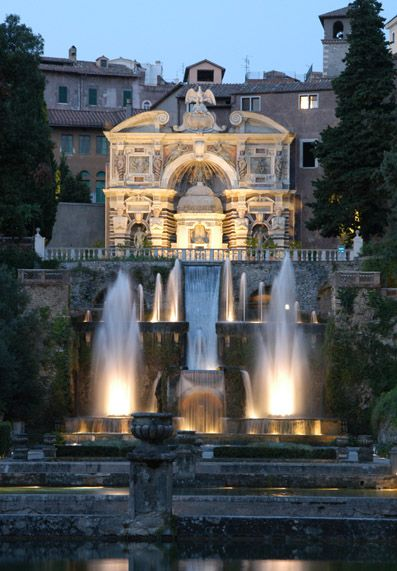 Villa d'Este, Tivoli, (Roma)