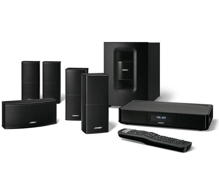 BOSE Cinemate 520 5.1 Home Cinema System Price: £ 585.97 The Bose Cinemate 520 5.1 Home Cinema System outputs sparklingly clear and richly powerful sound to augment all your home entertainment. Premium 5.1 surround sound This Bose Cinemate home theatre kit outputs true surround sound from its five small speakers and wireless Acoustimass subwoofer module. You'll enjoy room-filling audio with...